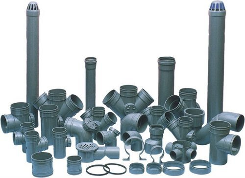 Kgn exports pvc pipes fittings for Plastic plumbing pipes